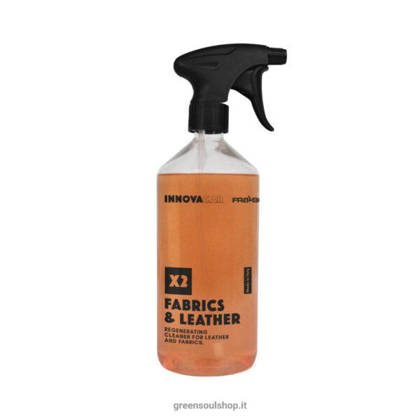 X2 Fabrics & Leather pulitore pelle e tessuti Innovacar